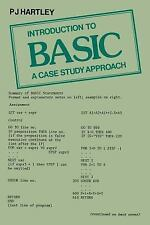Introduction to Basic : A Case Study Approach by P. J. Hartley (2013, Paperback)