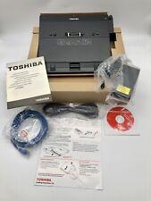 Toshiba Express Port Replicator II Docking Station, PA3680U-1PRP, New open box