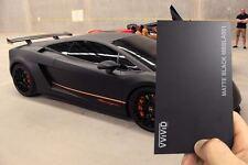 3M x 1.52M Black Matte Satin Vinyl Car Wrap Film
