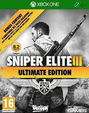 SNIPER ELITE III 3 ULTIMATE EDITION XBOX 360 * NUOVO SIGILLATO PAL *