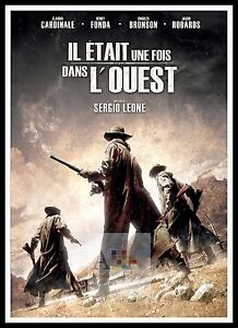 Once Upon A Time In The West 2   Poster Greatest Movies Classic & Vintage Films