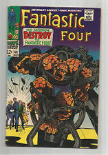 FANTASTIC FOUR (V1) #68: Silver Age Grade 7.0 With Classic Kirby Cover!!