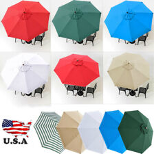 Outdoor Market Patio Umbrella Replacement Covers Top Canopy Durable Sunshade
