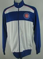 Chicago Cubs MLB G-III Men's White Full-Zip Jacket