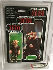 Retro Star Wars Rotj Trilogo Ree Yees AFA - 80 (80/80/85) MOC Tri