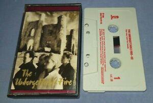 U2 THE UNFORGETTABLE FIRE cassette tape album A1549