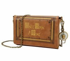 ABC Disney ONCE UPON A TIME BOOK COVER CROSSBODY SHOULDER BAG Clutch Handbag
