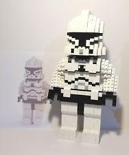 Lego UCS Clone Trooper Moc Build 850 parts/100% Offical Lego/Instructions.