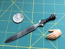 "1:6 Scale Apocalyptic ""Wasteland Warlord"" Sword Custom Steel Miniature By Auret"