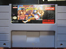 Super Nintendo Gampe Street Fighter II Turbo Game Tested and VG
