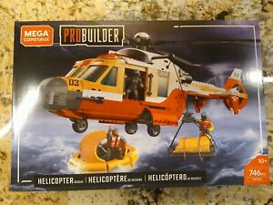 Mega Construx Probuilder Helicopter Rescue call of duty