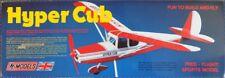 Hyper Cub : DPR Free-Flight Sports Model Balsa Wood Plane Kit Wingspan 750mm