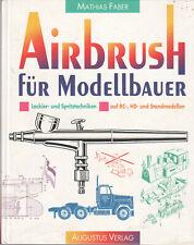 Airbrush für Modellbau - Lackier-und Spritztechniken - RC-,H0- & Standmodellen
