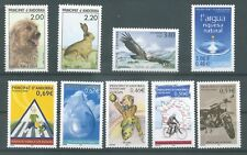 timbres 9 neufs Andorre