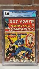 CGC SGT FURY #13 Captain America & Bucky MARVEL Silver Age KIRBY Sgt Fury