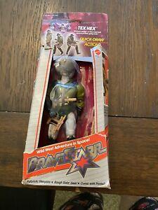 Mattel Bravestarr Bravestar TEX HEX Action Figure 1986 New, Bad Box
