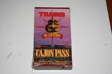 VHS VIDEO TAPE TITLED: CAJON PASS   SHOWS SLIGHT USE
