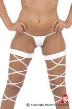 Exotic Leggings Bandage Lingerie Lace Up Leggings Erotic Punk Pole Dance Clubs