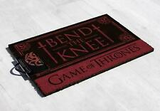 Game of Thrones Fußmatte Bend the Knee - Targaryen Fußabtreter Türvorleger OVP