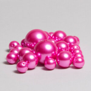84 PCS ASSORTED SIZE JUMBO PEARLS VASE FILLERS DECORATIVE PEARLS FOR CENTERPIECE