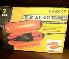New GARAGE by NIFTY Extension Cord Safety Case Protector Orange Safe And Dry