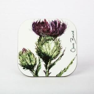 Scottish Thistle Flower of Scotland Coaster