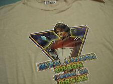 Vintage 1970's Robin Williams MORK   TV T shirt 50/50 soft thin MED Mint !