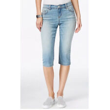 INC International Concepts Curvy-Fit Cropped-Leg Fairbanks Wash Jeans, 6