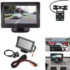 "1pc 4.3"" TFT LCD Monitor Night Vision Car Reversing Video Camera Kit"