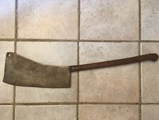 "Vintage Huge 32"" Long 7th Cavalry 1887 Meat Buffalo Cleaver Collectible Usa"