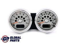 *BMW Mini Cooper One R50 R52 R53 Twin Clock Counter Speedometer Chrome 6936318