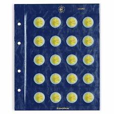 2 Hojas para las monedas de 2 euros conmemorativas Ref. 312 494