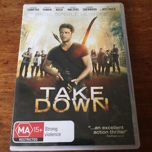 Take Down DVD R4 Like New! FREE POST