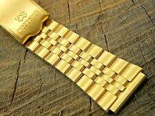 Seiko Vintage NOS Unused Deployment Clasp Watch Band 18mm Base Metal Bracelet