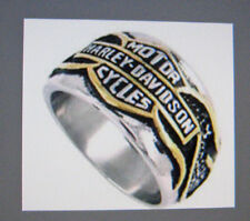 FAMOUS BIKER RING - STAINLESS STEEL -   USA SIZE 11 = AUS SIZE V½