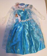 Disney FROZEN Princess Elsa Costume Dress Girls Size 4x-6x