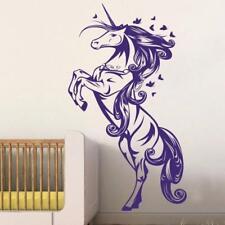 Pegasus horse UNICORN Childs Girls Bedroom Wall Art Vinyl Decal GIFT Sticker V48