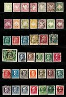 Bavaria stamps, small collection of 40 classics, mint & used, SCV $87.85
