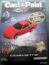 Cast & Paint Corvette Model Kit 1:64 Scale Krazy Kars Skullduggery Sealed