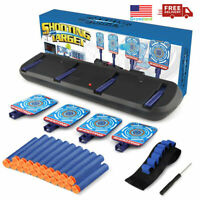 Auto Reset Shooting Target Practice Toys for Nerf Guns For Kids Age3 4 5 6 7 8+