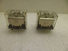 EATON CUTLER HAMMER D7PR4W1 RELAY GEN. PURPOSE SER.A2 48VDC  14 PIN LOT OF 2 NOS