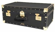"Traditional Mossman Vintage 30"" Attache Luggage Storage Trunk 30x17x11"" - 91ltr"