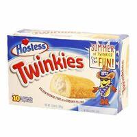 Hostess Twinkies Mini Kuchen mit Cremefüllung 10 Stück .jj