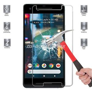 100% Tempered Glass Film Screen Protector for Google Pixel 2