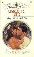 The Bride Said No