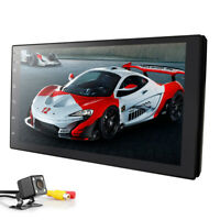 7'' Android 9.0 4G WiFi Double 2Din Car Radio Stereo GPS Navi Multimedia Player