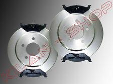 2 Bremsscheiben & Bremsklötze hinten Chrysler Stratus 1995-2000 Cabrio Limousine