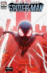 Miles Morales Spider-Man #21 - Marvel Comic Book Variant, 2021, NM
