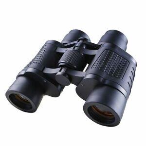 Binoculars Professional Telescope Zoom Night Day Military 80x80 Hunting Hiking