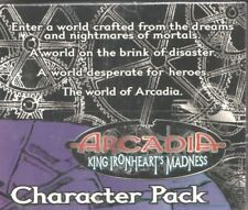 ARCADIA CCG - KING IRONHEART'S MADNESS CHARACTER PACK DISPLAY
